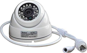 Ansice 720P IP Camera Infrared Dome CCTV IP Network Security Camera Commercial Use Onvif Engineering IPC for NVR Mobile Remote View