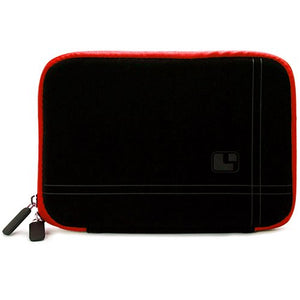 SumacLife Shock Absorbing Black Red Sleeve Suitable for Barnes & Noble Nook Tablet 7