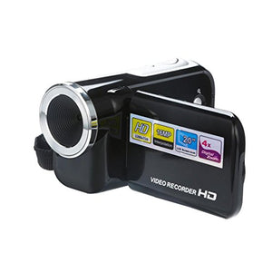 Nacome Camcorder Camera,HD 1080P Camera 4X Digital Zoom Video Camcorder (Black)