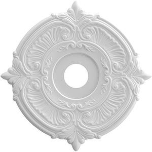 Ekena Millwork CMP19AT Attica Thermoformed PVC Ceiling Medallion, 19