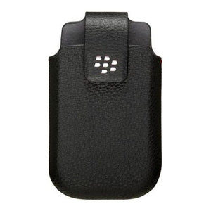 Blackberry HDW-31350-001 Leather Swivel Holster Curve 3G - Non-Retail Packaging - Black