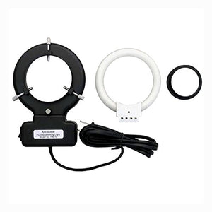 AmScope FRL12-A 12W Microscope Fluorescent Ring Light + Adapter