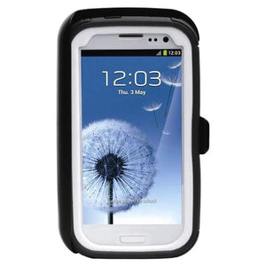 Body Glove ToughSuit Case w/ Holster Belt Clip (White/Gray) for Samsung Galaxy S III