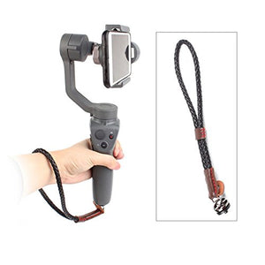 Hooshion Handheld Gimbal Camera Hand Strap Wrist Strap Wristband Sling Lanyard with 1/4 Screw for OSMO 2 Handheld Gimbal Camera,for Gopro Camera,for SLR Camera