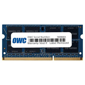 OWC 4GB (1 x 4GB) 1867 MHZ DDR3 SO-DIMM PC3-14900 204 Pin CL11 Memory Upgrade, (OWC1867DDR3S4GB)