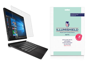 iLLumiShield Matte Screen Protector Compatible with Dell XPS 12 (2015)(2-Pack) Anti-Glare Shield Anti-Bubble and Anti-Fingerprint PET Film