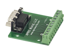 DB9 Male Breakout Board to Screw Terminals, Pack of 10
