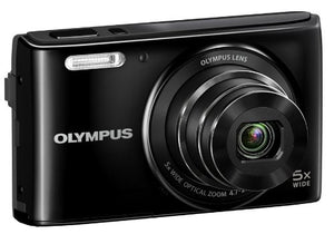 Olympus Stylus VG-180 16-Megapixel 5X 26mm Wide Optical Zoom 2.7 Inch LCD - Black