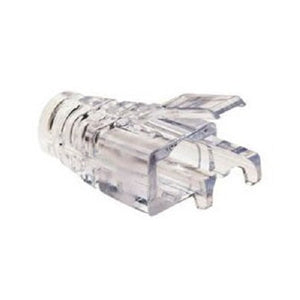 Platinum Tools 202036J EZ-RJ45 CAT6+ Clear Strain Relief, (2 Packs of 100)
