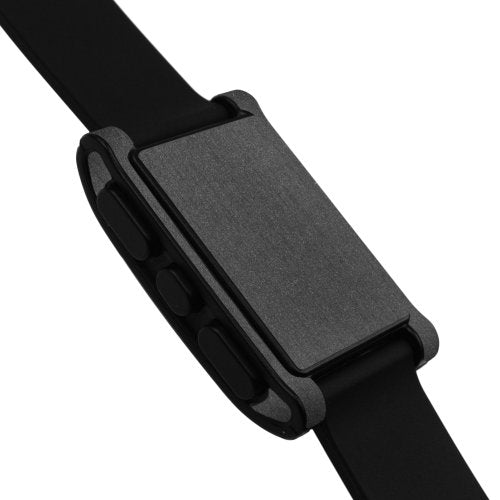 Skinomi Brushed Steel Full Body Skin Compatible With Pebble E Paper Smartwatch (Full Coverage) Tech S
