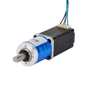 STEPPERONLINE 19:1 Planetary Gearbox Nema 8 Stepper Motor Geared Stepper Motor