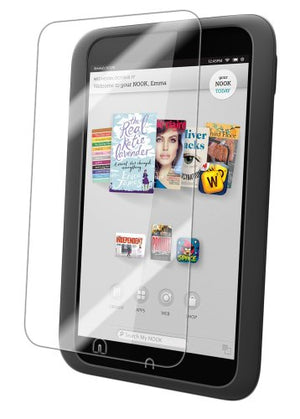 IQ Shield Screen Protector Compatible with Barnes & Noble Nook HD (7 inch) LiquidSkin Anti-Bubble Clear Film