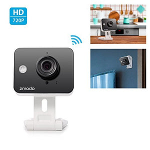 Zmodo Mini WiFi 720p HD Wireless Indoor Home Video Security Camera Two-Way Audio