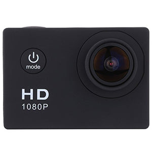 Tuscom12Mega Pixels CMOS-Sensor, HDMI output32GB Storage,Video Encrypyion Enabled,Waterproof Full HD 1080P Sports Action Camera DVR Cam DV Video Camcorder (Black)