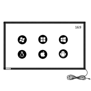GreenTouch 40 inch Infrared Touch Overlay 10 Points IR Touch Frame with USB Interface Free-Drive Plug and Play