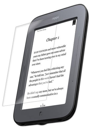 IQ Shield Screen Protector Compatible with Barnes & Noble Nook Touch LiquidSkin Anti-Bubble Clear Film