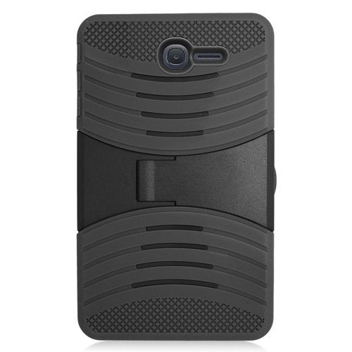 Alcatel One Touch POP 7 LTE Case ,High Impact Hybrid Drop Proof Armor Defender Full-body Protection Case Convertible Built in Stand for Alcatel Onetouch POP 7 LTE 2016 /9015W (T-Mobile) -Black