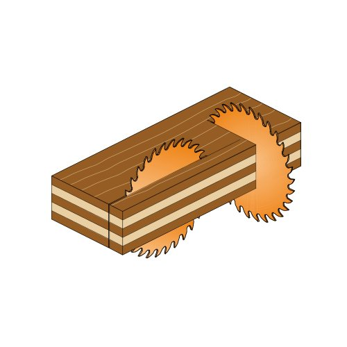 Cmt 219.090.12 Industrial Sliding Compound Miter & Radial Saw Blade, 12 Inch X 90 Teeth 4/30â° Atb+1