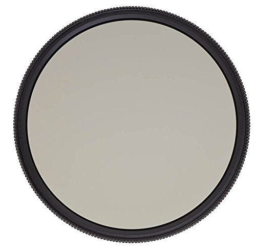 Heliopan 77mm Slim High Transmission Circular Polarizer SH-PMC Filter (707762) with specialty Schott glass in floating brass ring