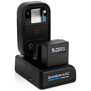 SANDMARC Procharge: Triple Charger for GoPro Hero 4, 3+, 3 and Smart (WiFi) Remote