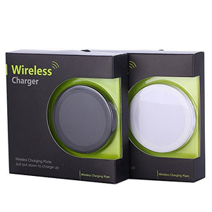 Qi Wireless Charger, wireless charging pad (Black)