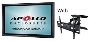 Apollo Outdoor TV Enclosure for 50-55