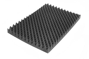 2 x Absorbation Acoustic Pimple Foam Sound Pyramid Studio Treatment Wall Panel