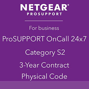NETGEAR ProSUPPORT, 3-Year 24x7 On Call Support, Category S2 (PMB0S32P)