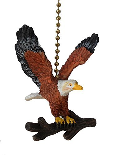 American Bald Eagle Ceiling Fan Pull Light Chain Extender