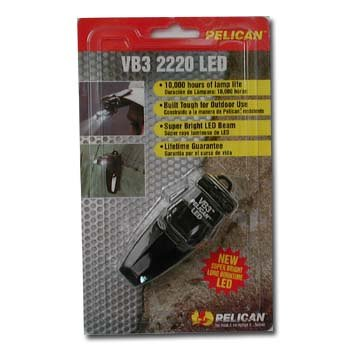 Pelican 2220C Flashlight (Black)