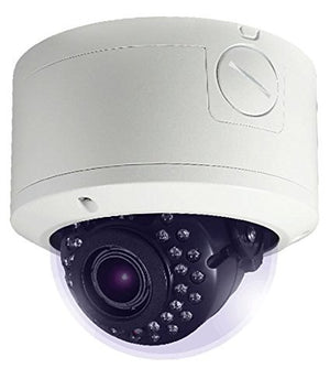 HDView 2.4MP 4-in-1 (TVI/AHD/CVI/960H) IR HD 2.8-12mm Motorized Lens 1080P Outdoor 12V DC, Turbo Platinum Vandal Proof Dome Camera