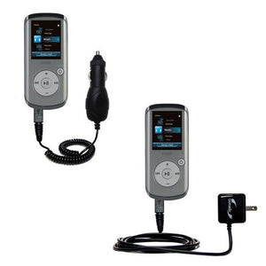 Essential Gomadic AC/DC Charge Accessory Bundle Kit for The RCA M4202 Opal Digital Media Player Includes Gomadic Home and Car Chargers at a Money Saving Price. Based on TipExchange Technology