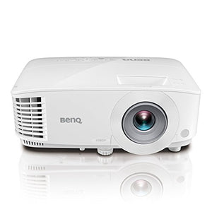 BenQ 1080p DLP Business Projector (MH733), 4000 Lumens, Full HD 1920x1080, Wireless, Network, 3D, HDMI, USB Reader, 10W Speaker, LAN Control, 100@8.2ft, 1.3X Zoom