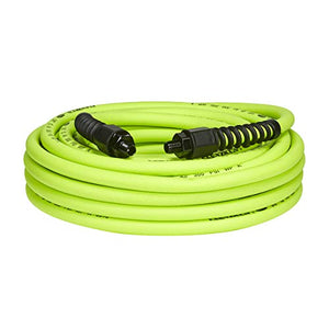 Flexzilla Pro Air Hose, 3/8 in. x 50 ft, Heavy Duty, Lightweight, Hybrid, ZillaGreen - HFZP3850YW2