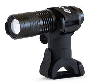 Life Mounts LED Plumbers Light with Patented Pipe Mount (Black)