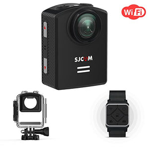 SJCAM M20 4K WiFi Action Camera Sports Camera Wide-Angel and GYRO 1.5 inch LCD Screen 30M Water Resistant with Smart Wrist Remote