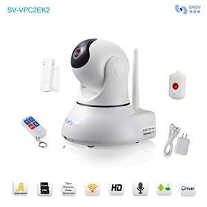Snov Wireless Mini IP Camera with Pan Tilt and P2P Max Support 128GB TF Card, APP & CMS