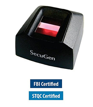 SecuGen Hamster Pro 20 FBI Certified as Meeting FIPS 201 (PIV) and FAP 20 - by Pac Supplies USA LLC