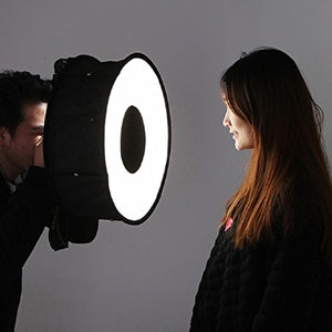 Foldable Flash Diffuser Light Softbox Ring for Speedlights for Nikon, Canon, Vivita, Sunpack, Nissin, Sigma, Sony