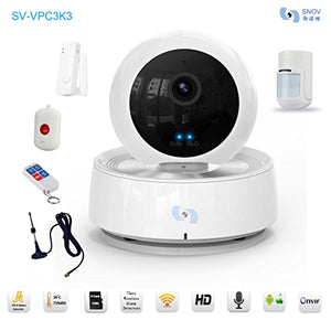 Snov PTZ Survillance WiFi IP IR Camera, Baby Monitor P2P HD WiFi Camera with 5 Presets