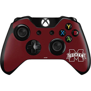 Skinit Decal Gaming Skin for Xbox One Controller - Officially Licensed College Mississippi State Logo Design