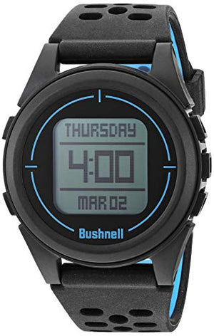 Bushnell 368850 Neo Ion 2 Golf GPS Watch, Large, Black/Blue