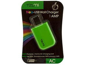 Green Neo-USB Wall Charger