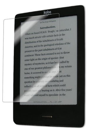 IQ Shield Screen Protector Compatible with Kobo eReader Touch LiquidSkin Anti-Bubble Clear Film