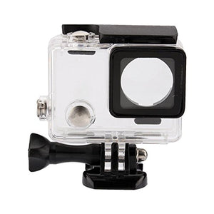 Acouto Transparent Shockproof Diving Waterproof Camera Housing Case Cover for Hero 4/3+/3
