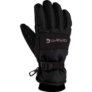 Carhartt Men's W.p. Waterproof Insulated Work Glove, Black, X-Large
