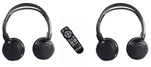 Wireless Headphones and Remote For Jeep Grand Cherokee 2013 2014 2015 2016 2017 2018 2019