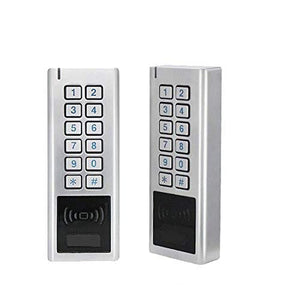 Metal Waterproof ID Card Reader with keypad for Access Control System.