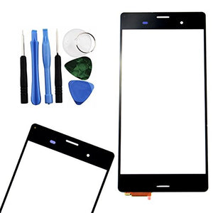 BisLinks Black Touch Screen Digitizer Repair + Tools for Sony Xperia Z3 D6603 D6643 D6616