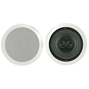 BIC America MSR8D Ceiling Speaker 8 W/Dual Voice Coils & Twin Tweeters Consumer Electronics